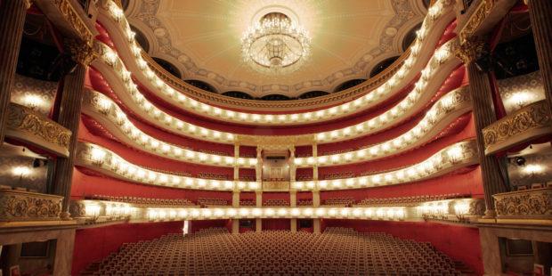 Zuschauerraum der Bayerischen Staastsoper