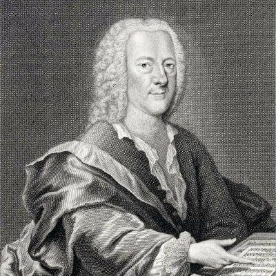 Georg Philipp Telemann porträtiert von Georg Lichtensteger (um 1745)