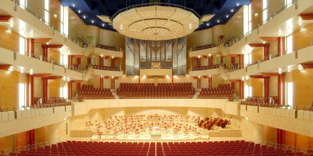 Bald wieder gefüllt: Philharmonie Essen, Alfried Krupp Saal © Frank Vinken