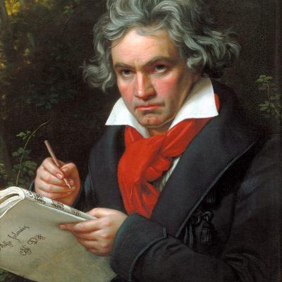 Vom Genius umflort: Joseph Karl Stieler schuf 1820 jenes Porträt, das unsere Vorstellung von Beethoven bis heute prägt.