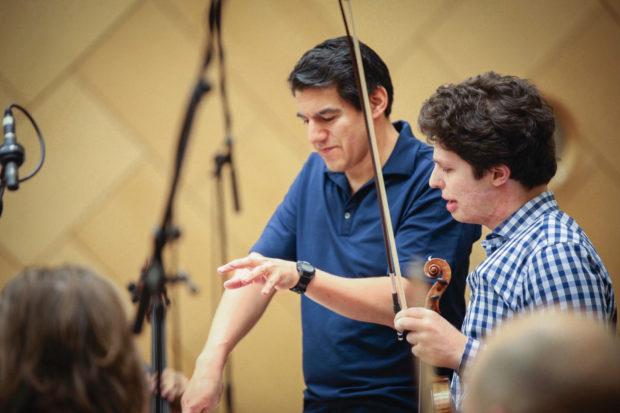 Miguel Harth Bedoya & Augustin Hadelich