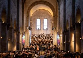 Kloster Eberbach beim Rheingau Musik Festival