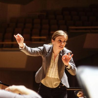 Girls can do anything – auch am Dirigentenpult
