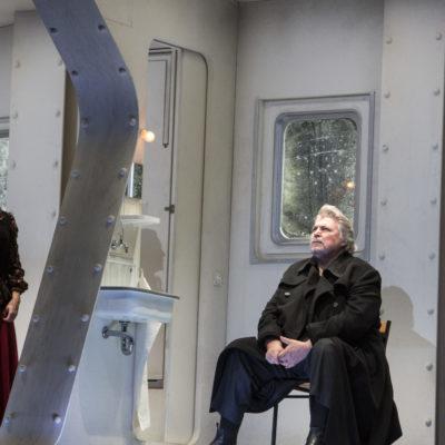 """Szene aus """"Tristan und Isolde"""" an der Oper Köln: Ingela Brimberg und Peter Seiffert"""