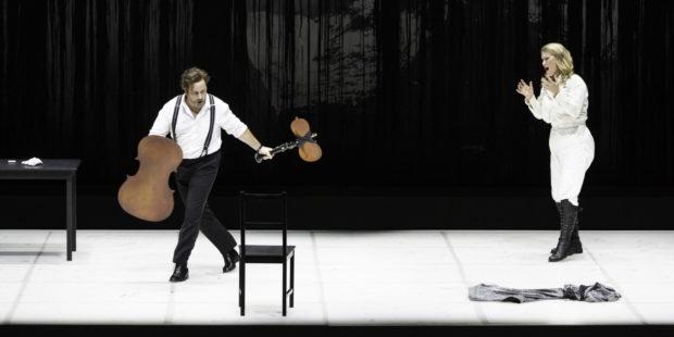 """Szene aus """"Guillaume Tell"""" an der Opéra de Lyon"""