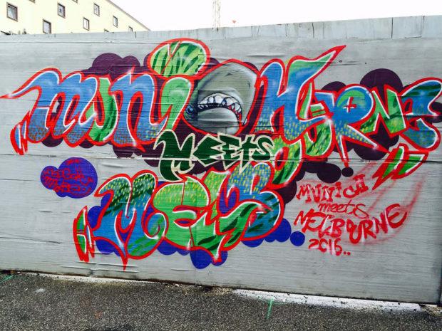 Graffiti for Melbourne