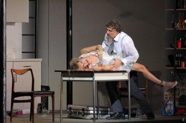 Marlis Petersen (Marietta), Jonas Kaufmann (Paul)