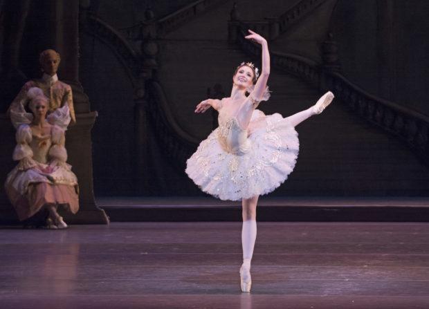 """Lauren Cuthbertson als """"Prinzessin Aurora"""" in """"Dornröschen"""" aus dem Royal Opera House"""