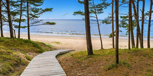Jurmala ist vor allem für seinen Strand bekannt