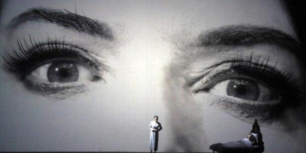 7 Deaths of Maria Callas: Adela Zaharia (Lucia di Lammermoor), Marina Abramović