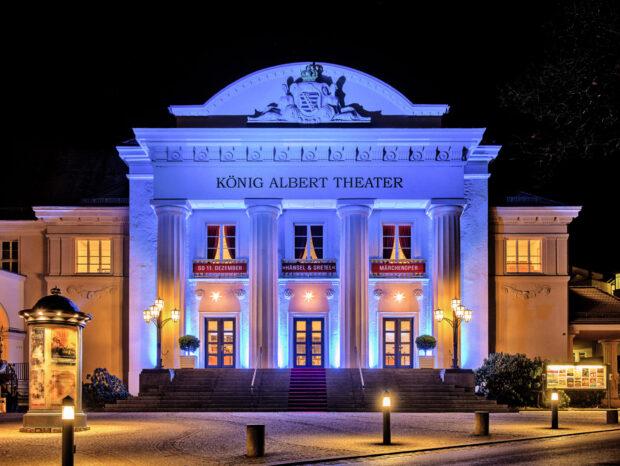 Das König Albert Theater in Bad Elster