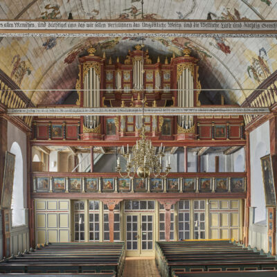 Die Schnitger-Orgel  der St. Pankratius-Kirche in Neuenfelde