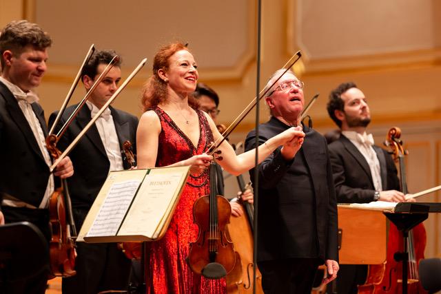 Mit den Symphonikern Hamburg in der Laeiszhalle