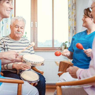 Musiktherapie im Alter