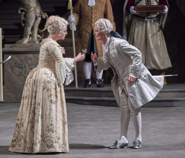"Szenenbild aus ""Der Rosenkavalier"""