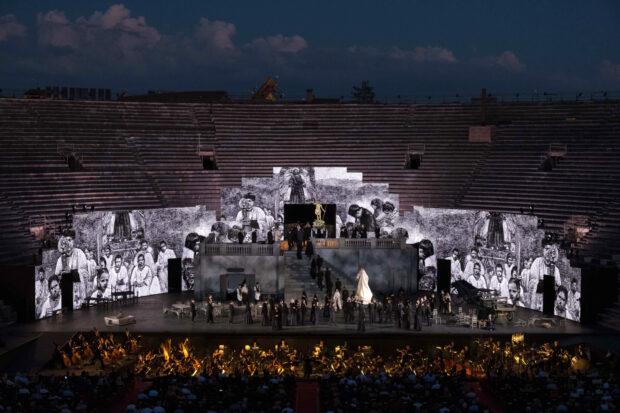 Atemberaubende Kulisse: Arena di Verona