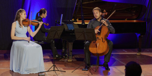 Das Trio Marvin beim Eröffnungskonzert des Davos Festival 2021
