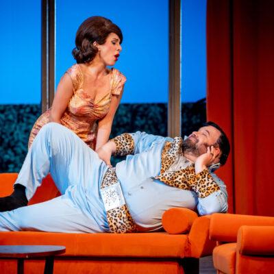 """Falstaff"" am Theater Magdeburg mit Noa Danon und Stephanos Tsirakoglou"